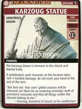 Pathfinder Adventure Card Game - 1x Karzoug Statue - Sins of the Saviors
