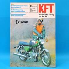 DDR KfT Kraftfahrzeugtechnik 11/1979 MZ TS 250/1 Polski Fiat 1300/1500 Moped 71