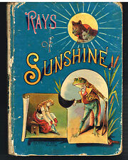 Rays of Sunshine 1893 McLoughlin Bro. Color Plates!  $