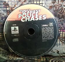 Play Station 2 Spiel PS2 Worlds Scariest Police Chases  Spiel