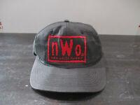 VINTAGE NWO Hat Cap Snap Back Black Red WWE WWF Wrestling Wrestler Mens 90s
