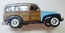 Vintage 1:24 Scale Die-Cast Woody Station Wagon