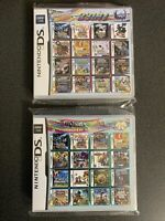 Pokemon 23 in 1 And 208 In 1 Game Card Nintendo DS DSI DS LITE 2DS 3DS BUNDLE