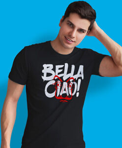 BELLA CIAO! DOM Z PAPIERU Meska Koszulka Polska Koszulki Polski T-shirt