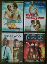 "Lot of 4 DVDs PG-13..""Fool's Gold"",""Over Her Dead Body"",""Guess Who"",""Dreamgirls"""