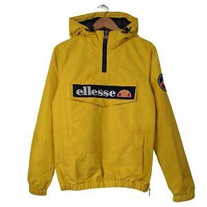 Vintage Ellesse Yellow 1/4 Zip Apres Ski Mont Hooded Jacket - Size XS