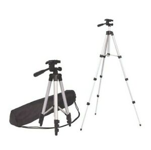 Weifeng WT-3110A Tripod 3 WAY HEAD Built in LEVEL Horizontal & VERTICAL Pan NEW