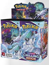 Pokemon Chilling Reign Booster Box Preventa 6/18 fecha de envío
