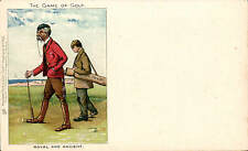 Golf Comic. The Game of Golf. Royal & Ancient # 745 by Tuck.