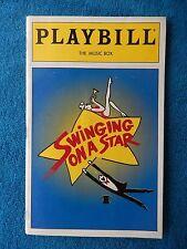 Swinging On A Star - Music Box Playbill w/Ticket - January 13th, 1996 - McGrath