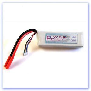5s 3000mah 18.5v 30c PolyPower Lipo