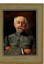 Coupure de presse Clipping Poster Le Général Anthoine 29 x 39