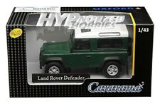 CARARAMA 1:43 LAND ROVER DEFENDER DIE-CAST GREEN 4-55260