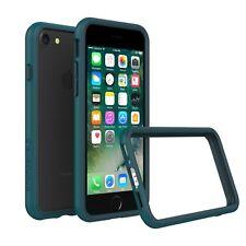 iPhone 8/7 Bumper Case RhinoShield [11 Ft Drop Tested] ShockProof Tech-Dark Cyan
