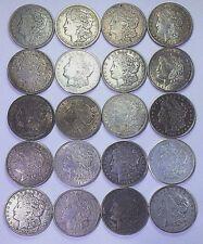 20-1921 MORGAN SILVER DOLLARS P,D&S MINTS