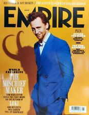 EMPIRE Magazine June 2021 #Tom Hiddleston #LOKI - TOP GUN Maverick!
