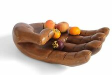 Large Wooden Hand Shaped Ornament/Bowl/Sculpture/Holder. Choice 3 HUGE sizes