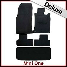 Mini One Tailored LUXURY 1300g Car + Boot Mat (2001 2002..2004 2005 2006) 2Clip