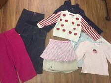 GIRLS CLOTHES SIZE 4T 9PIECE LOT~ SHIRTS, HOODIES, SKIRTS~ GYMBOREE, PLACE