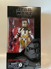 "Star Wars Black Series ~ 6"" CLONE COMMANDER BLY ACTION FIGURE ~ Hasbro"