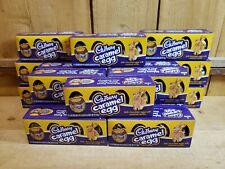 Lot of 20 Cadbury 4ct Caramel Egg Easter Candy Milk Chocolate Eggs with Caramel