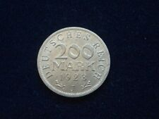 Deutschland  Weimarer Republik  - 200 Mark 1923 J   Inflation