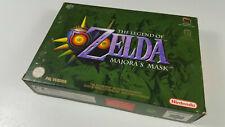 Zelda: Majora's Mask Nintendo 64 N64 PAL Spiel Boxed OVP CIB VGC w.Neu sgZ Kompl