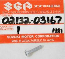 NOS 82-91 Suzuki FA50 Front Blinker Turn Signal Lens Mount Screw OEM 02132-03167
