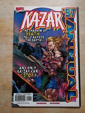 Ka-Zar 97 Annual, Marvel Comics, 1st Brian K. Vaughan, Signed!