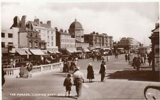 The Parade looking East Worthing unused RP old pc Excel