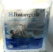 Sealy PosturePedic Mattress Pad, White, King 72 x 84 x 13in.CK/XG Waterproof