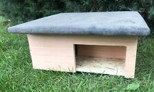 More details for wooden hedgehog house and hibernation shelter (includes free bedding)