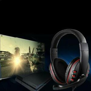 Stereo Video Gaming Headset For  One PS4 Nintendo Switch & PC Mic Laptop