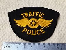 Traffic Police Patch