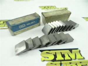 18 NEW SOLID CARBIDE INDEXABLE INSERTS SPG-634