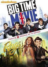 BIG TIME RUSH & RAGS The Movie  : MOVIE SET  -  DVD - REGION 1 - Sealed