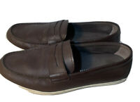 Cole Haan Sz 11M Brown Leather Hyannis Penny Loafer II Slip On Shoes C26467 EUC