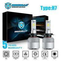2x H7 LED Headlight Kits 2000W 300000LM FOG Light Bulbs 6000K Driving DRL Lamp