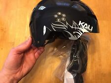 Kali Raja Jungle Bicycle / Skate Helmet - S / XS Small Extra Small - Black
