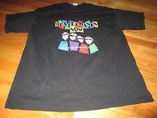 Beatlemania Paul John George Ringo Signed (Xl) T-Shirt