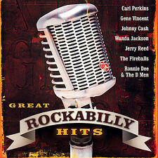 Great Rockabilly Hits by Various Artists (CD, May-2006, CBUJ Distribution)
