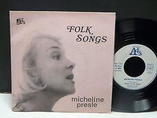 MICHELINE PRESLE Folk songs : hush little baby ADES 11004