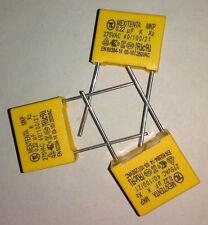10pcs X2 Polyproplene safety capacitor 0.22uF/275VAC K