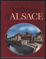 ARCHIVES D'ALSACE Jacques BORGÉ et Nicolas VIASNOFF 1996 éd° Michèle Trinckvel