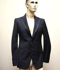 $2415 New GUCCI Men's Wool Tuxedo Blazer Jacket EU 50C US 40C 179713