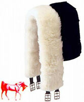 Quality 100% Pure Lambs Wool Girth Sleeve (Not Sheepskin) All Sizes & Colours