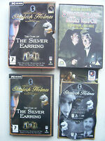 Sherlock Holmes The Case of the Silver Earring PC Limited Edition Includes DVD