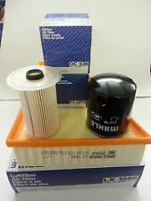 Ford Galaxy MK3 1.8 TDCi Oil Air Fuel Filter Service Kit Genuine MAHLE 2006-2011