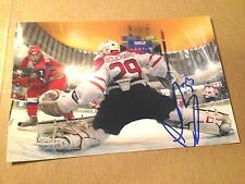 Keven Bouchard SIGNED 4x6 photo TEAM CANADA / EDMONTON OILERS