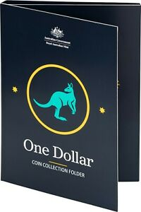 Royal Australian Mint $1 One Dollar Circulating Coin Collection Folder Only NEW